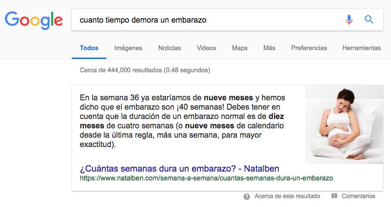 Dudas acerca de los Contenidos Destacados o Featured Snippets en Google-SEO-Panama